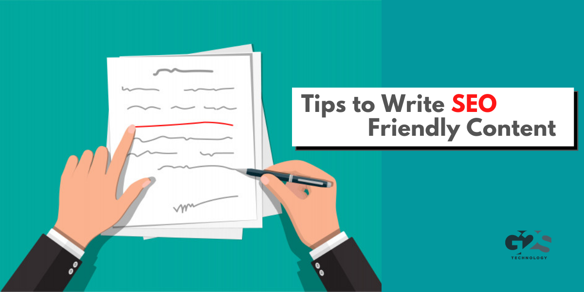 Tips to Write SEO Friendly Content